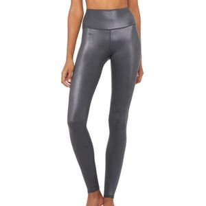 Alo Yoga high waist 7/8 shine legging Anthracite